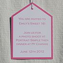 Personalised Extra Large Tag