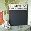 Personalised Vintage Wood Chalkboard