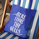 'Here Come The Gulls' Tote Bag