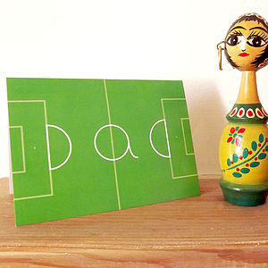'Dad Football Card' Father's Day Card - personalised