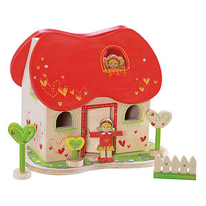 Fairy Tale Dolls House And Accessories - traditional toys & games