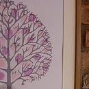 Signed fingerprint tree, used as a guest register