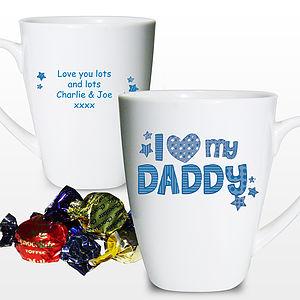 Personalised 'I Love My…' Mug
