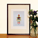 Robot 'Fig.4' Silkscreen Print