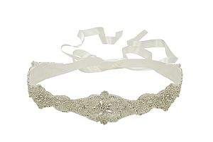 Millie Wedding Dress Belt - wedding dresses & accessories