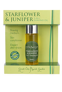 Starflower And Juniper Shaving Oil