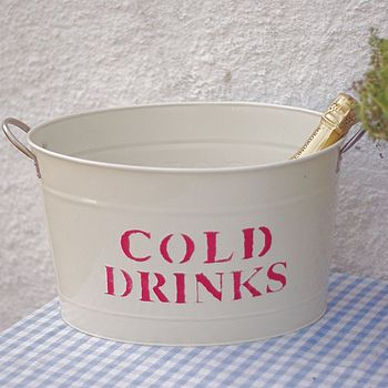 'Cold Drinks' Bucket