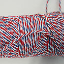 Red, White and Blue Bakers Twine