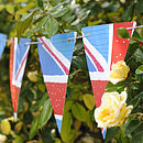 Union Jack Flag Paper Bunting