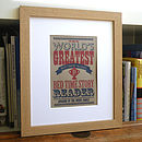 'Worlds Greatest' Print