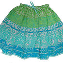Peasant Skirt Sea Splash