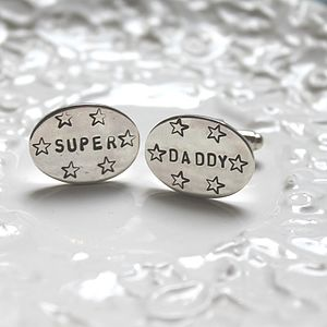 'Super Daddy' Cufflinks