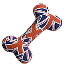 Union Flag Bone Toy