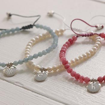 Semi Precious Stone Friendship Bracelets