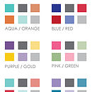 Colour ranges