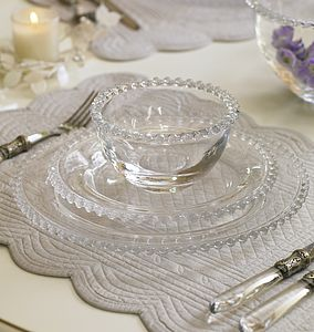 Bella Perle Glass Crockery - tableware