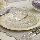 Thumb pearl place setting a