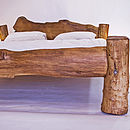 Rustic Handmade Superking-Size Bed