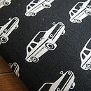 Men's Retro Car Cover For Kindle