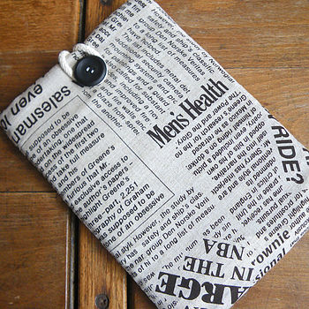 Newspaper Cover For Kindle