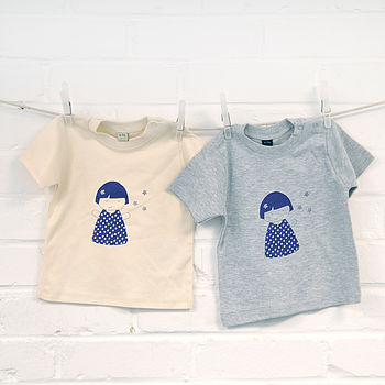 Screen Printed Doll Design Tshirt