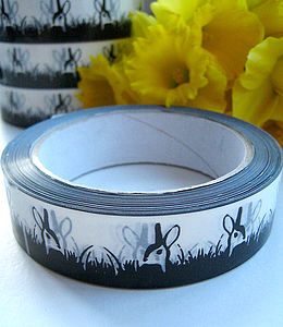 Animal Ribbon Sticky Tape Three Designs