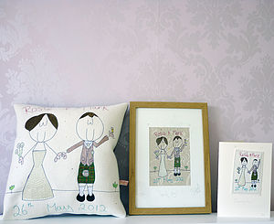 Personalised Wedding Gift Bundle