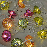 Moroccan Glass Lantern Fairy Lights - christmas decorations