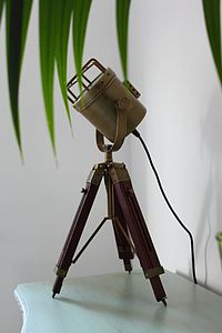 Spotlight Tripod Lamp - lighting
