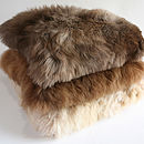 Alpaca Fur Cushion