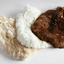 Alpaca Fur Hot Water Bottle Cover