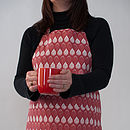 Isabella Red apron