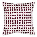 London Cushion 35x35cm Vermillion