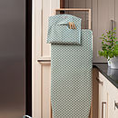 Madelaine Sage Peg Bag and Ironing Board cover