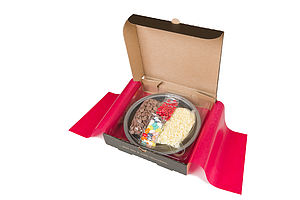 Design Your Own Chocolate Pizza Kit - chocolates