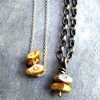Pulse 'Love' Necklace For Him And Her