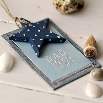 Dad You Are A The Best - Hanging Tag
