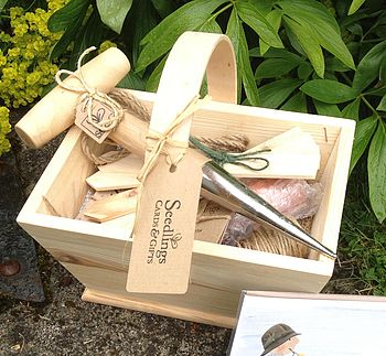 Wooden Trug Gift Set