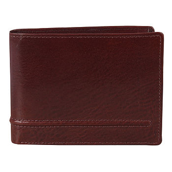 Brown Calves Leather Wallet