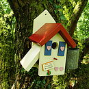 Personalised Country Cottage Bird House