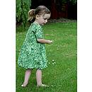 Girl's Lettuce Dress