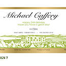 Personalised Wine Labels