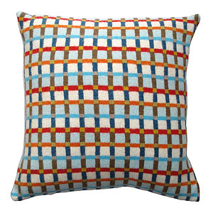 Dewdrop Knitted Lambswool Cushion - cushions