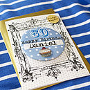 Personalised Birthday Age Magnet Card
