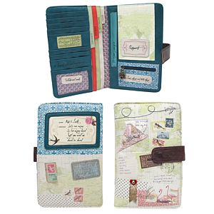Vintage Style Travel Wallet - bags & purses