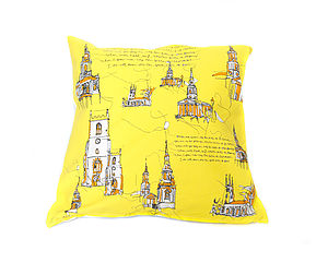 Oranges And Lemons Cushion Cover - bedroom