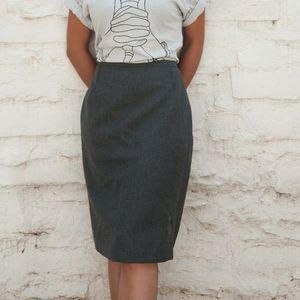 Scandinavian Vintage Skirt - women's fashion