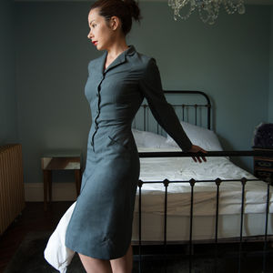 Vintage British Nurses Dress - women's fashion
