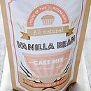 Vanilla Bean Natural Cake Mix With Icing