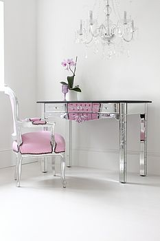 Large Mirrored Dressing Desk